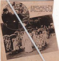AERTSELAER..1936.. E.H. VERREPT ALS PASTOOR INGEHAALD - Vecchi Documenti