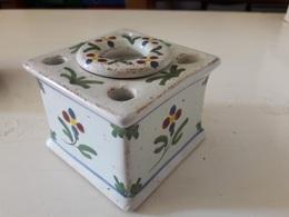 Encrier En  Porcelaine - Inkwells