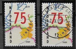 Nederland - 1989 - Yvert 1340 - **  En  O  - - Periodo 1980 - ... (Beatrix)