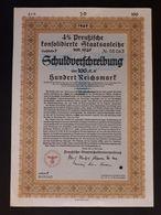 Preussen Staatsanleihe / Schuldverschreibung - 1940 - Acciones & Títulos