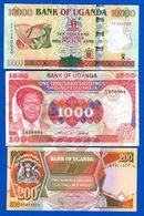 Ouganda  7  Billets - Uganda