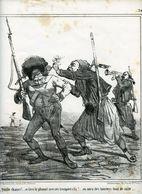 Campagne D'Italie De 1859.Napoléon III.Invasion Du Piémont Par Les Autrichiens.cueillette De Lauriers Symboles De Gloire - Estampas & Grabados