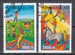 Azerbeidzjan Europa Cept 2002 Type A Gestempeld Fine Used - Europa-CEPT