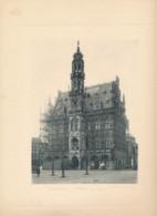 Monumenten Van België - Oudenaarde - Fotogravure Audenaerde Hôtel De Ville - Afmetingen 320 X 238 - Foto Jh & P Jumpertz - Oudenaarde