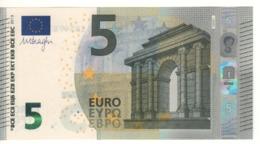 """5 EURO  """"Belgio""""    DRAGHI    Z 009 E1    ZB5478734346   /  FDS - UNC - EURO"""