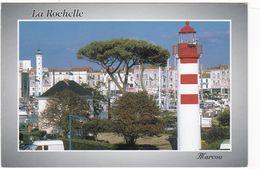 D2614 PHARE - VUURTOREN - LIGHTHOUSE - LA ROCHELLE - LES PHARES ET LE BASSIN A FLOT - Faros