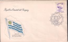 Uruguay - 1976 - FDC - Teru Teru - Vanellus Chilensis - Cygnus - Cigognes & échassiers