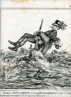Campagne D'Italie De 1859.Napoléon III.Invasion Du Piémont Par Les Autrichiens.Entreprise Zouave Déménage Tyroliens. - Estampas & Grabados
