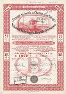 Titre Ancien- Société Nationale Des Chemins De Fer Belges (SNCB) - Obligation De 1960 - Chemin De Fer & Tramway