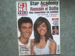 Ciné Télé Revue 2003 Star Ac Johnny Hallyday Céline Dion Arielle Dombasle George Clooney Catherine Zeta-Jones - Cinema