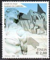 ITALY ITALIA 2006 -  1v - MNH - Made In Italy  Carrara Marble - Minerals - Marbre De Carrare - Carrara-Marmor - Marmo - Geologie