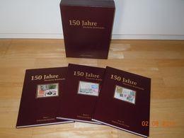 Deutsche Post: 150 Jahre Deutsche Briefmarke; 3 Bände - Jubiläums-Edition - Letteratura