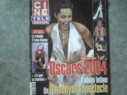 Ciné Télé Revue 2004 Angelina Jolie Nicole Kidman Laetitia Casta Monica Bellucci Vincent Cassel Carla Bruni - Cinema