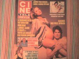 Ciné Télé Revue 1994 Ronn Moss Michel Sardou Claudia Schiffer George Peppard Michel Blanc Katharine Hepburn - Cinema