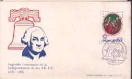 Uruguay - 1976 - FDC - 200 Ans D'indépendance Des États-Unis D'Amérique - Cygnus - Uruguay