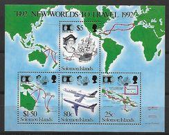 Thema Colombus - Solomon Islands - BL 32 - Christoph Kolumbus