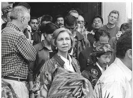 Photo Guatemala. La Reine Sofia Sophie D'Espagne..Ph. Vivant Univers 2000 . - Lugares