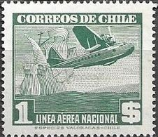Chile 1943 Aereo MI 309  ** Mnh - Cile