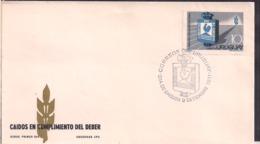 Uruguay - 1971 - FDC - Caidos En El Cumplimiento Del Deber - Cygnus - Uruguay