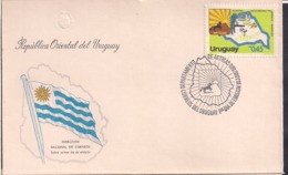 Uruguay - 1978 - FDC - Departamento De Artigas - Cygnus - Uruguay