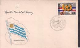 Uruguay - 1978 - FDC - 50 Aniversario IMES - Cygnus - Uruguay