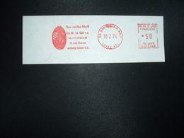 FRAGMENT EMA SJ 20249 à 50 Du 18 2 74 44 NANTES RP AN.1 LOIRE ATL.Pneus Caoutchouc Industriel Ets M. Le Gall S.a.+ANNEXE - EMA ( Maquina De Huellas A Franquear)