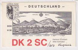 QSL Card - AK 382561 Germany - Schladen - Radio Amatoriale