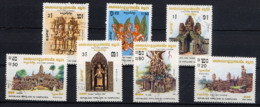 KAMPUCHEA 1983,  Yvert 376/82, Culture Khmère, 7 Valeurs, Oblitérés / Used. R064 - Kampuchea