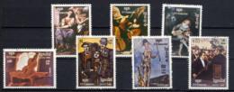 KAMPUCHEA 1983,  Yvert 359/61, Année Internationale De La Musique, Tableaux, 7 Valeurs, Oblitérés / Used. R075 - Kampuchea