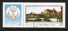 ROMANIA  Scott # B 427 VF USED (Stamp Scan # 702) - 1948-.... Republics