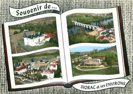 MULTIVUES LIVRE - SOUVENIR DE ... SIORAC ET SES ENVIRONS (24) - Otros Municipios