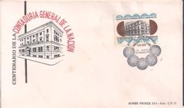 Uruguay - 1976 - FDC - Contaduria General De La Nacion - Cygnus - Uruguay