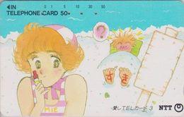 Télécarte JAPON / NTT 290-169 TBE - Comics Manga N° 3 - Painting JAPAN Phonecard - Comics