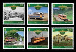 Isle Of Man 2020 Mih. 2607/12 Snaefell Mountain Railway MNH ** - Man (Insel)