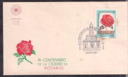 Uruguay - FDC - 1975 - Bicentenaire De San Carlos - Cygnus - Uruguay