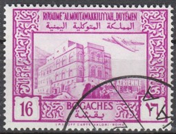 Jemen-Nord (Arab.Republik) Nr. 136 Q - Landesmotive: Palast, Taiz - Yemen