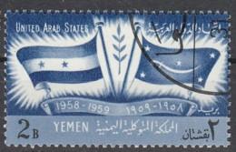 Jemen-Nord (Arab.Republik) Nr. 164 Q - 1. Jahrestag Gründung Der VAR Ägypten, Syrien + Jemen - Yemen