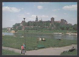 112883/ KRAKOW, Wawel Castle, View From The Vistula River, Wawel, Widok Od Strony Wisły - Poland