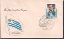Uruguay - 1976 - Cachets Spéciaux - Lufthansa - 50 Aniversario - Cygnus - Uruguay