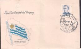 Uruguay - 1976 - Correo Ordinario - Artigas - Blanes - Cygnus - Uruguay