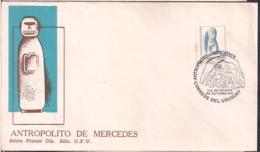Uruguay - 1976 - FDC - Mercedes Anthropolite - Cygnus - Archäologie