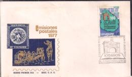 Uruguay - 1977 - 100 Años De La Accion Educativa De Los Salesianos En El Uruguay - Cygnus - Uruguay