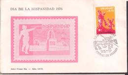 Uruguay - 1976 - Dia De La Hispanidad - Cygnus - Uruguay