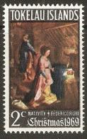 Tokelau  1969  SG  20  Christmas  Unmounted Mint - Tokelau