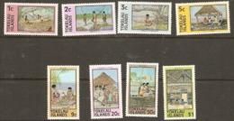 Tokelau  1976  SG 49a-56a  Island Crafts   Unmounted Mint - Tokelau