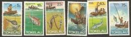 Tokelau  1982  SG 85-90  Fishing    Unmounted Mint - Tokelau