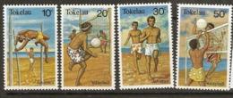 Tokelau  1981  SG 77-80  Sports    Unmounted Mint - Tokelau