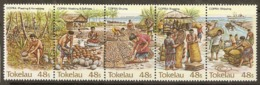 Tokelau  1984  SG  103-7  Copra Industry  Unmounted Mint - Tokelau