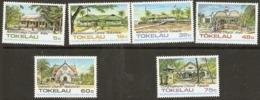 Tokelau  1985  SG  124-9  Tokelau  Architecture  1st Series   Unmounted Mint - Tokelau