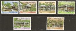 Tokelau  1986  SG  130-5  Tokelau Architeture  2nd Series   Unmounted Mint - Tokelau